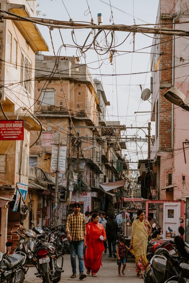 przeludnieni w Indii